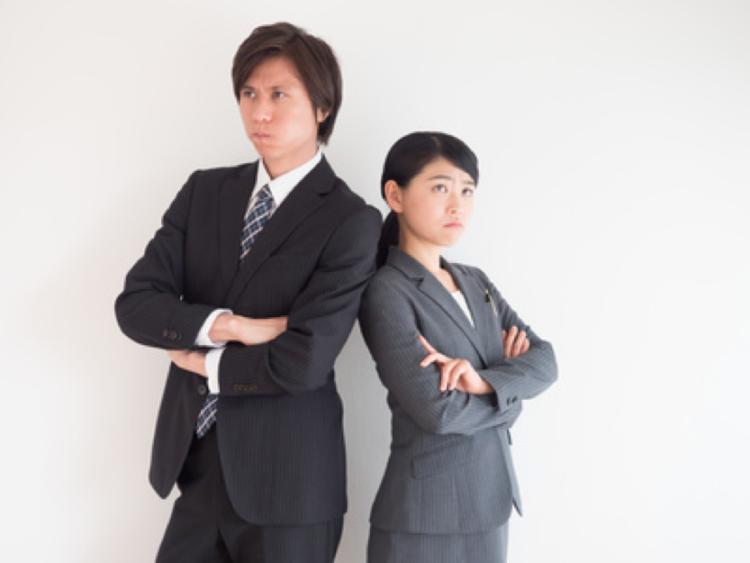 同僚とトラブル