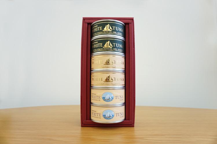 モンマルシェ「王道ツナ3種6缶セット」
