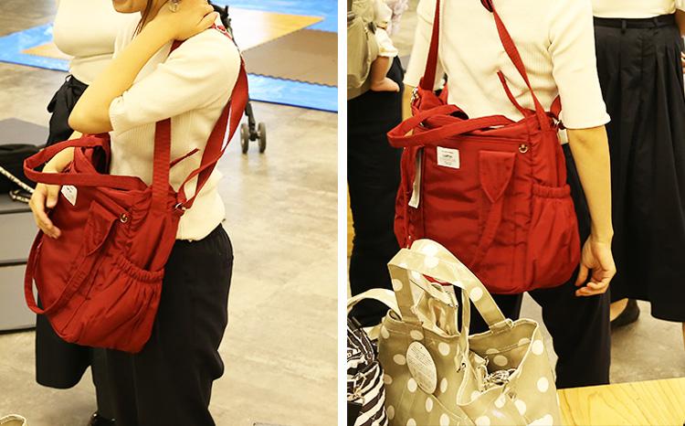 2wayなど複合型のマザーズバッグ