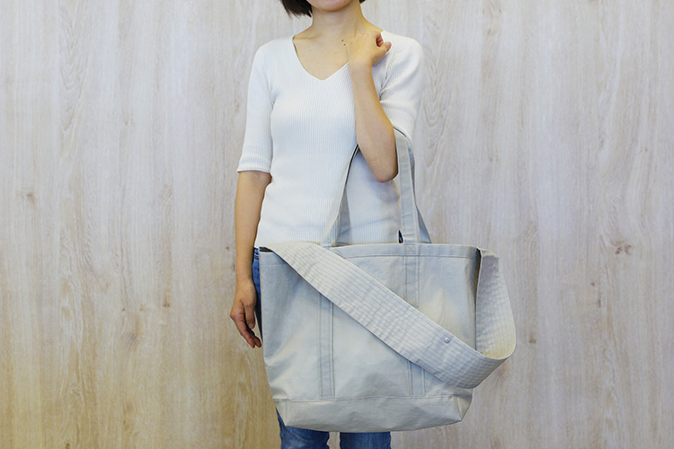 MATO「CONTAINER TOTE BAG AIR(2wayペアレンツトートバッグ)」女性